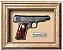 Quadro de Arma Resina Ortigies Pocket Pistol cal. 7,65mm - Clássico - Imagem 1