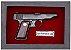 Quadro de Arma Resina Ortigies Pocket Pistol cal. 7,65mm - Clássico - Imagem 2