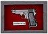 Quadro de Arma Resina Beretta Pocket Pistol mod. 1934 cal. 7,65 mm - Clássico - Imagem 2
