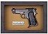 Quadro de Arma Resina Beretta Pocket Pistol mod. 1934 cal. 7,65 mm - Clássico - Imagem 3