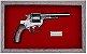 Quadro de Arma Resina Smith & Wesson D.A. cal. .44 Russian - Clássico - Imagem 2