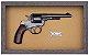 Quadro de Arma Resina Smith & Wesson D.A. cal. .44 Russian - Clássico - Imagem 3
