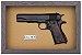Quadro de Arma Resina Colt cal. 45 M. 1911 - Clássico - Imagem 3