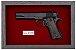 Quadro de Arma Resina Colt cal. 45 M. 1911 - Clássico - Imagem 2