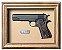 Quadro de Arma Resina Colt cal. 45 M. 1911 - Clássico - Imagem 1