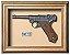Quadro de Arma Resina KG Luger P 08 - Clássico - Imagem 1
