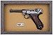 Quadro de Arma Resina KG Luger P 08 - Clássico - Imagem 3