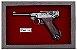 Quadro de Arma Resina KG Luger P 08 - Clássico - Imagem 2
