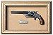 Quadro de Arma Resina Smith & Wesson S.A. cal. .38 S&W - Clássic - Imagem 1