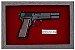 Quadro de Arma Resina M.35 Browning Hi-power cal.9mm - Clássico - Imagem 2