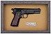 Quadro de Arma Resina M.35 Browning Hi-power cal.9mm - Clássico - Imagem 3