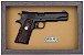 Quadro de Arma Resina Colt MK III cal. .38 SPL - Gold Cup National Match - Clássico - Imagem 3
