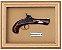 Quadro de Arma Resina Derringer - Clássico - Imagem 1
