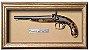 Quadro de Arma Resina Percussion G. Laport Small Pistol - Clássico - Imagem 1