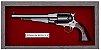 Quadro de Arma Resina 1858 Remington New Model Army cal. .44 - Clássico - Imagem 2