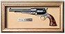 Quadro de Arma Resina 1858 Remington New Model Army cal. .44 - Clássico - Imagem 1