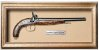 Quadro de Arma Resina Percussion G. Laport Large Pistol - Clássico - Imagem 1