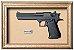 Quadro de Arma Resina Desert Eagle cal. 357 Mag. - Clássico - Imagem 1