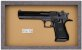 Quadro de Arma Resina Desert Eagle cal. 357 Mag. - Clássico - Imagem 3