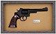 Quadro de Arma Resina KG Smith & Wesson S.A. cal. 38 S&W - Clássico - Imagem 3