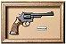Quadro de Arma Resina KG Smith & Wesson S.A. cal. 38 S&W - Clássico - Imagem 1