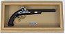 Quadro de Arma Resina W. Park of London cal. .45 - 1810 - Clássico - Imagem 1