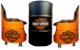 Kit TemaHarley Davidson - Tambor decorativo Aparador + 2 Poltronas de tambor - Imagem 1