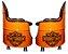 Kit TemaHarley Davidson - Tambor decorativo Aparador + 2 Poltronas de tambor - Imagem 2