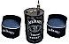 Kit Tema Jack Daniel's - Tambor Decorativo Aparador + 2 Poltronas de tambor - Imagem 1