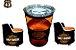 Kit Harley Davidson - Barzinho com led e tampo de vidro + 2  Poltronas - Imagem 1