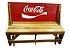 Banco que vira Mesa - Tema Coca Cola - 4 Lugares - 1,20 cm - Imagem 1