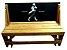 Banco que vira Mesa - Tema Johnnie Walker - 4 Lugares - 1,20 cm - Imagem 1