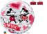 Balão Bubble Eu te Amo com Mickey e Minnie da Disney - 01 unidade - Imagem 2