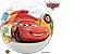 Balão Bubble Relâmpago McQueen e Mate  - 01 unidade - Imagem 1
