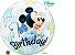 Balão Bubble 1º Aniversário Mickey Mouse da Disney  - 01 unidade - Imagem 2