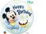 Balão Bubble 1º Aniversário Mickey Mouse da Disney  - 01 unidade - Imagem 1