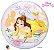 Balão Bubble Princesa Bela  - 01 unidade - Imagem 1