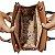 Bolsa Marrom Feminina Estruturada de Mão e Lateral Veryrio - Imagem 5