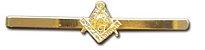 Prendedor de Gravata - Esquadro e Compasso - Imagem 2