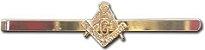 Prendedor de Gravata - Esquadro e Compasso - Imagem 1