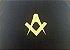Almofada em veludo  bordada em dourado - Imagem 2