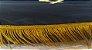 Almofada em veludo  bordada em dourado - Imagem 3