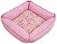 Cama Pet Soft Quadrada Rosa 50cm x 50cm - Imagem 2