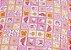 Cama Pet Soft Quadrada Rosa 50cm x 50cm - Imagem 3