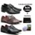 KIT Sapato social couro legitimo + carteira J-02 - Imagem 1
