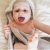 Toalha Cuddledry Infanti Cinza - Imagem 7