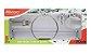 Kit Acessórios Banheiro 5 peças Mônaco Cromado Cristal - Imagem 1
