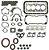 Jogo De Juntas Do Motor Completo (Com Retentores e Vedadores) | Towner Jr e Van, Effa Picape e Van - Imagem 1