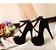 Sapato Plataforma de Salto Fino LACED - Duas Cores - Imagem 5