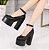 Sapato de Couro Plataforma BLACKFIT - Imagem 3